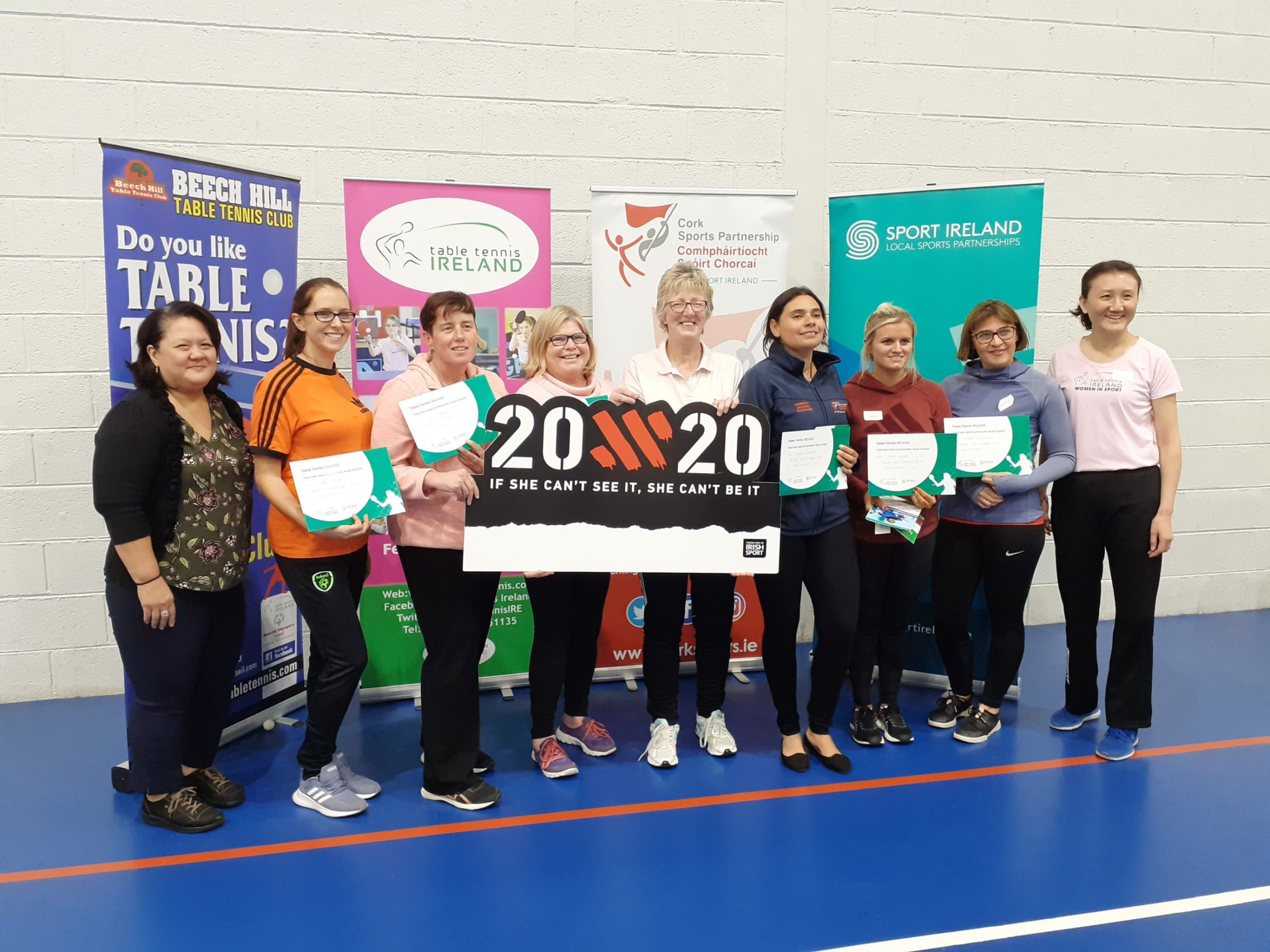 Women in Sport TTI event Munster